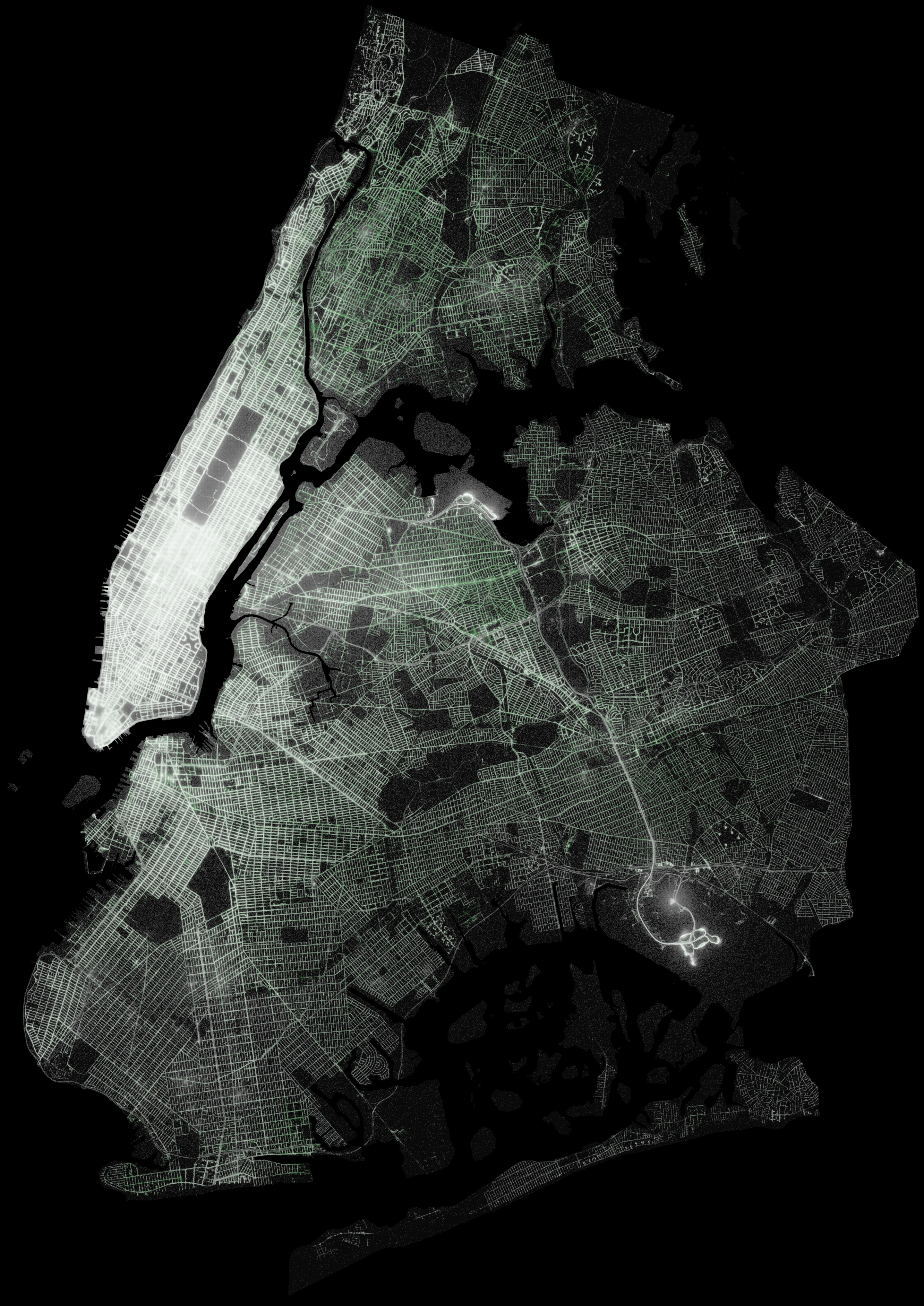 Analyzing  Billion NYC Taxi And Uber Trips With A Vengeance - New york map data